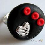anello 14 nero rosso