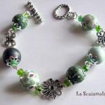 bracciale 13 verde