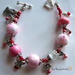bracciale 14 rosa