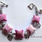 bracciale 23 rosa