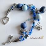 bracciale 40 blu