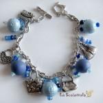bracciale 43 blu celeste