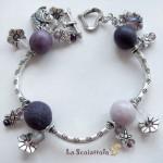 bracciale 49 viola lilla