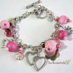 bracciale 52B rosa fucsia