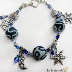 bracciale 65 celeste blu