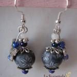 orecchini 001 blu