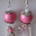 orecchini 007 rosa