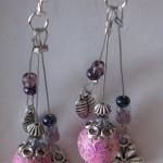 orecchini 018 rosa