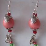orecchini 031 rosa