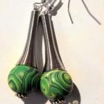 orecchini 049 verde