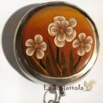 posacenere 03 oro marrone